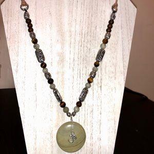 Meditation and Positivity fashion necklace